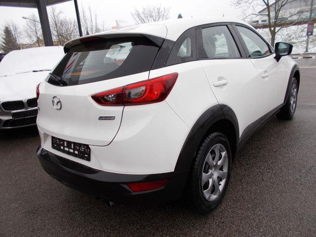lhd car MAZDA CX 3 (10/2017) - white - lieu: