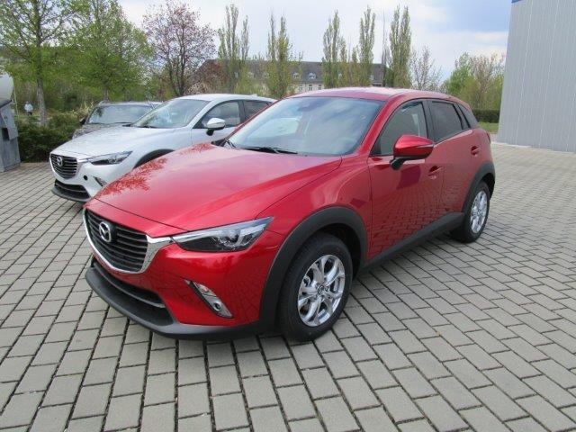 lhd MAZDA CX-3 (05/2017) - red - lieu: