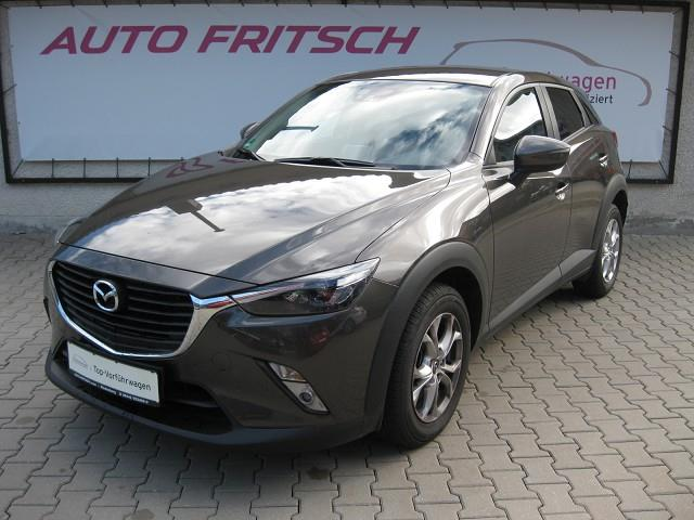 lhd MAZDA CX-3 (01/2017) - grey - lieu: