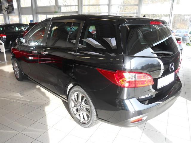 Left hand drive car MAZDA 5 (08/2015) - black - lieu: