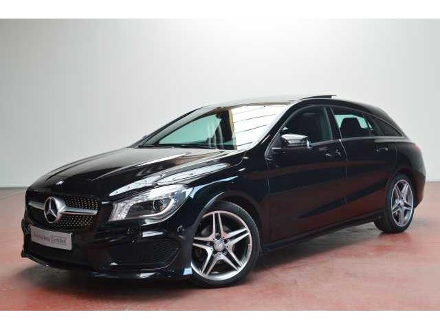 Left hand drive MERCEDES CL CLASS  200 CLA 200 d S-Brake