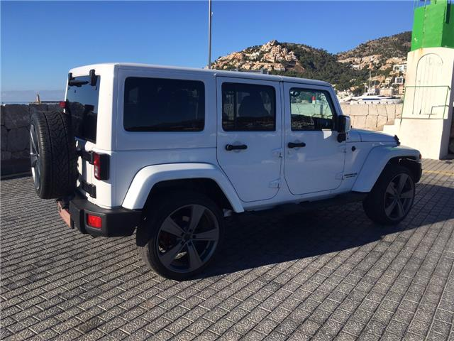 Left hand drive JEEP WRANGLER Unlimited 2.8CRD Sahara Spanish Reg
