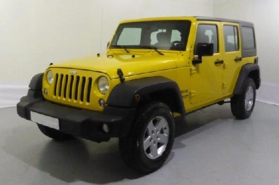 JEEP WRANGLER UNLIMITED SPORT 2.8 CRD Spanish Reg