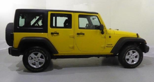 Left hand drive JEEP WRANGLER UNLIMITED SPORT 2.8 CRD Spanish Reg