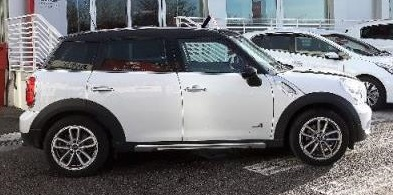lhd MINI COUNTRYMAN (01/2015) - White - lieu: