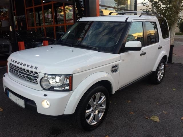 Left hand drive LANDROVER DISCOVERY 3.0SDV6 HSE 255 Aut. Spanish Reg
