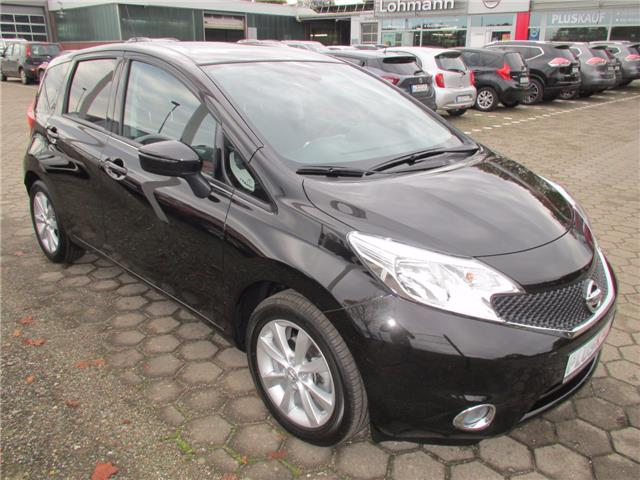 lhd NISSAN NOTE (10/2016) - black - lieu: