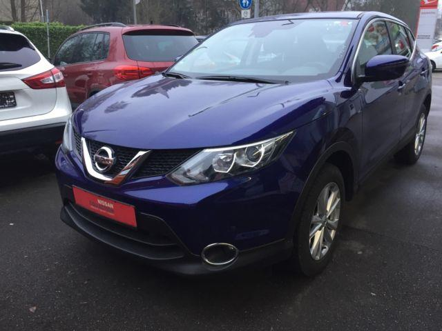 Left hand drive NISSAN QASHQAI 1.6dCi X-Tronic Acenta