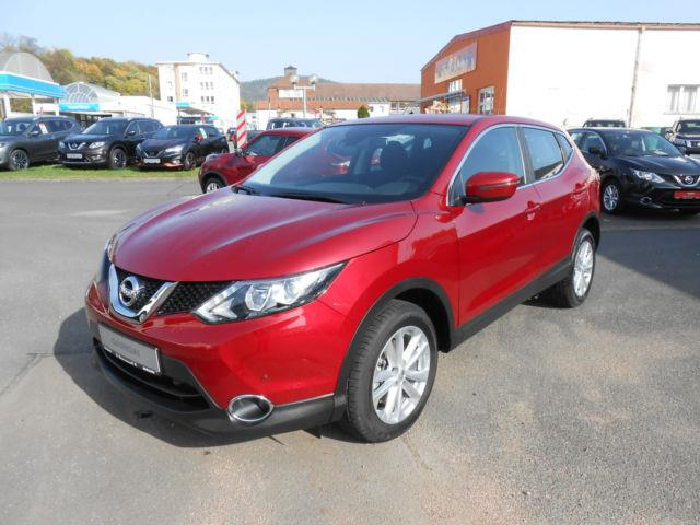 Left hand drive NISSAN QASHQAI 1.2 DIG-T Xtronic ACENTA