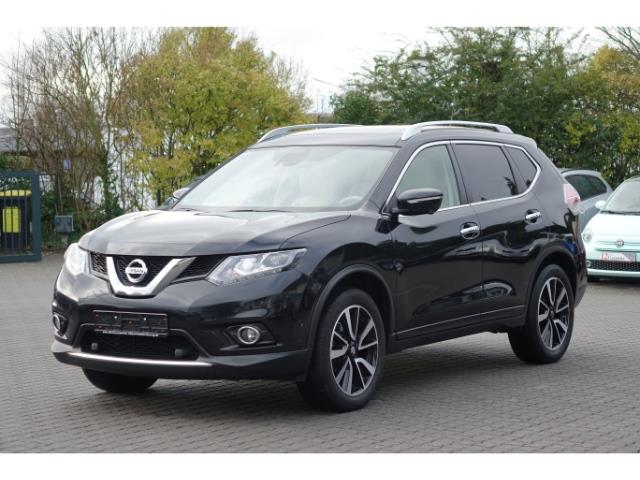 lhd NISSAN X TRAIL (03/2016) - black
