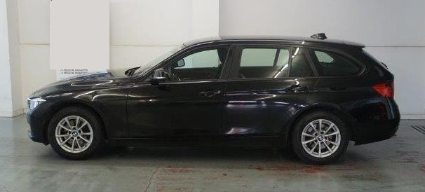 Lhd BMW 3 SERIES (08/2015) - Black - lieu: