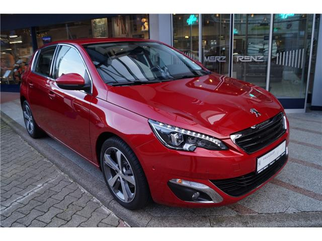lhd PEUGEOT 308 (04/2017) - red