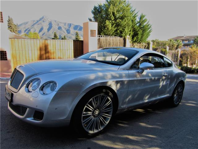lhd BENTLEY CONTINENTAL GT (09/2008) - Grey - lieu: