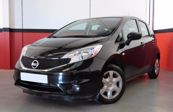 Left hand drive NISSAN NOTE 1.5dCi 90CV Naru Edition Spanish Reg