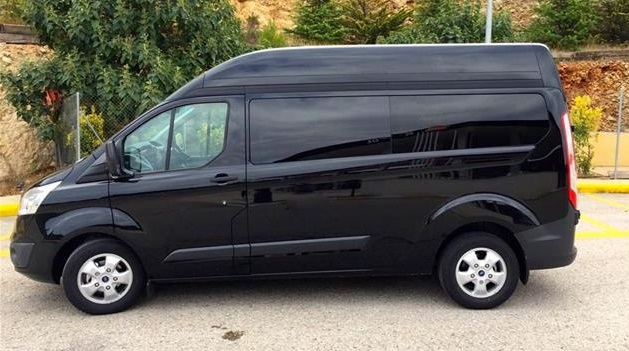FORD TRANSIT (09/2017) - Black - lieu: