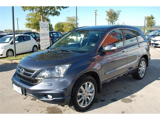 lhd HONDA CR V (01/2011) - grey - lieu: