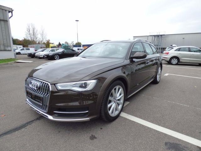 AUDI A6 ALLROAD (07/2015) - brown - lieu: