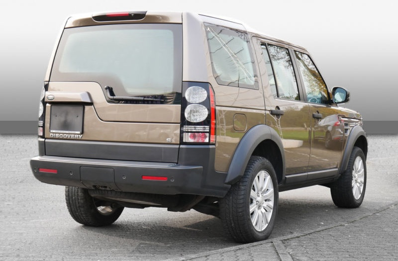 Left hand drive LANDROVER DISCOVERY 4 3.0 TDV6 S LUFTFEDERUNG