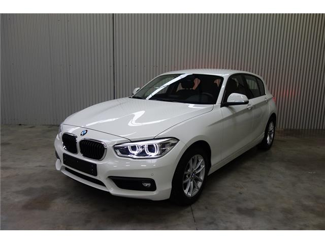 lhd BMW 1 SERIES (02/2017) - white - lieu: