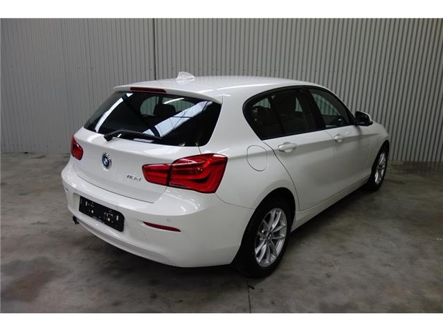 Left hand drive BMW 1 SERIES 116 d