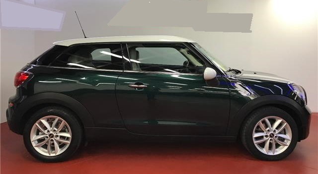 lhd MINI PACEMAN (07/2015) - Green - lieu: