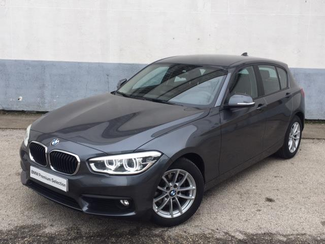 lhd BMW 1 SERIES (02/2017) - grey - lieu: