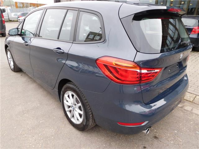 Left hand drive car BMW 2 SERIES (01/2017) - blue