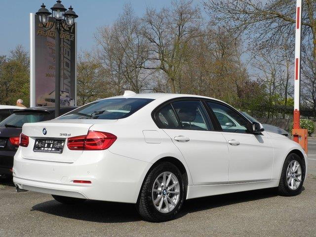 Left hand drive BMW 3 SERIES 318 dA