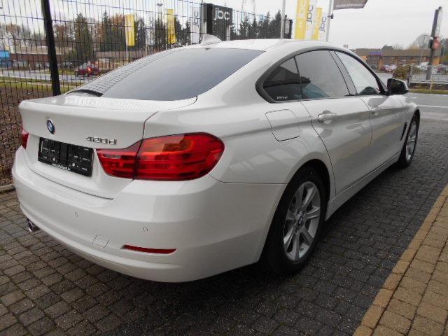 Left hand drive BMW 4 SERIES 420 d