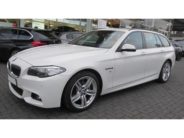lhd BMW 5 SERIES (02/2017) - white - lieu: