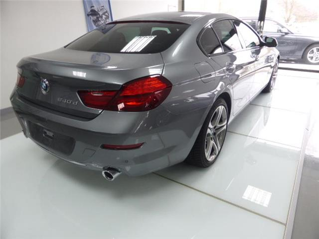 Left hand drive BMW 6 SERIES  640 Serie 6 Gran Coupe dA