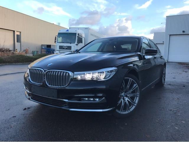 lhd BMW 7 SERIES (01/2016) - black - lieu:
