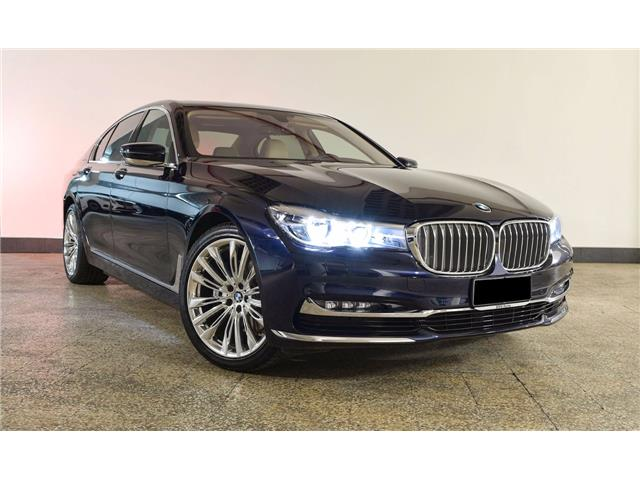 lhd BMW 7 SERIES (04/2016) - blue - lieu:
