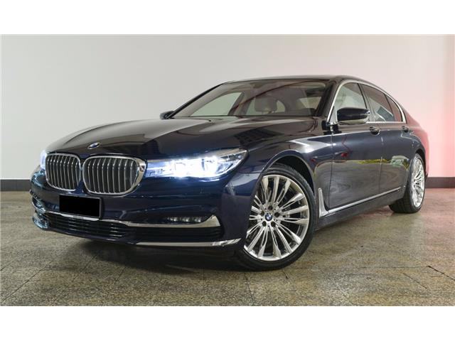 BMW 7 SERIES (04/2016) - blue - lieu: