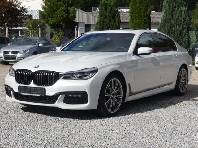 lhd BMW 7 SERIES (01/2017) - white - lieu: