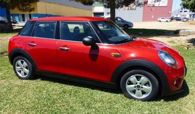 lhd MINI COOPER (06/2015) - Red - lieu: