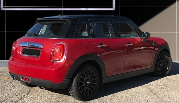lhd MINI COOPER (05/2015) - Red - lieu: