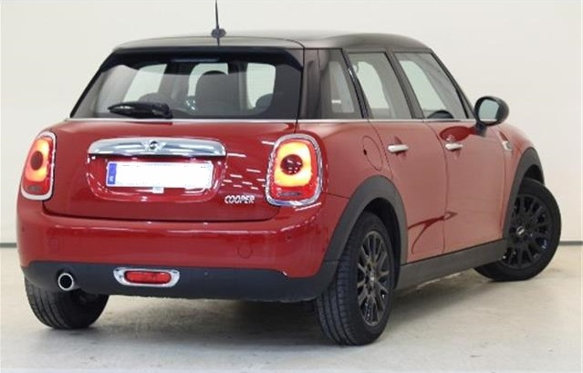 Lhd MINI COOPER (06/2016) - Red - lieu: