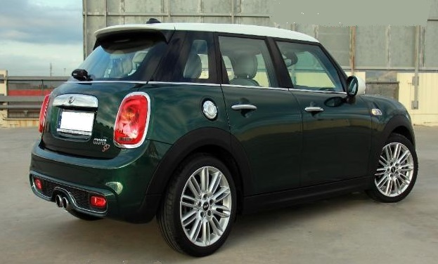 Lhd MINI COOPER (03/2016) - Green - lieu: