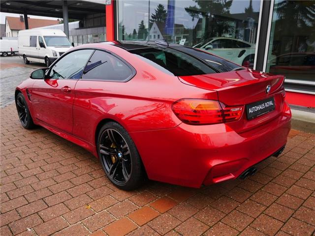 Left hand drive BMW M4 Coupe DKG