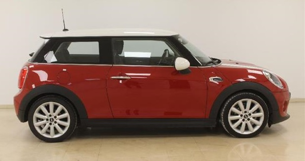 MINI COOPER (07/2016) - Red - lieu: