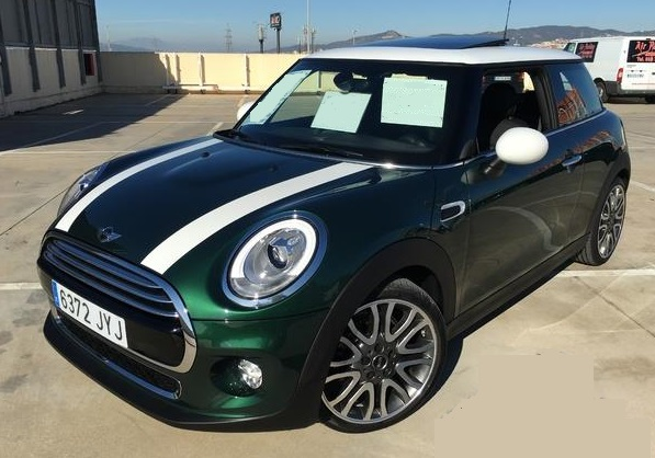 Lhd MINI COOPER (05/2017) - Green
