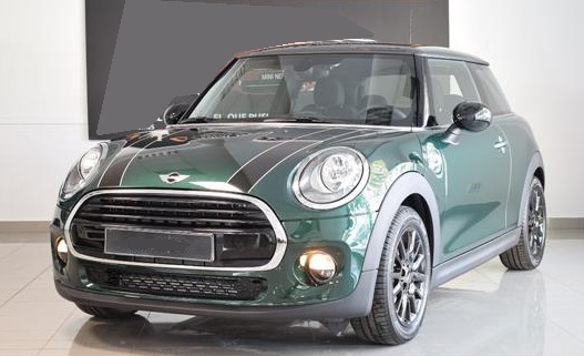 lhd MINI COOPER (09/2017) - Green - lieu: