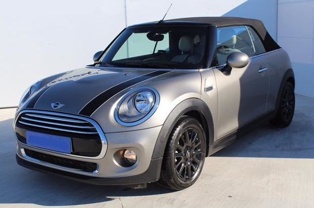 Left hand drive MINI COOPER Cabrio Spanish Reg