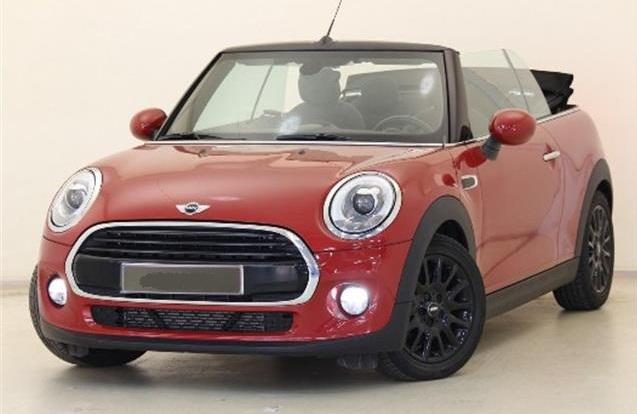 lhd MINI COOPER (10/2016) - Red - lieu: