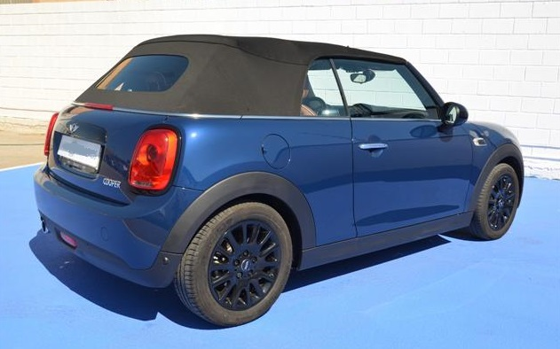 lhd car MINI COOPER (11/2016) - Blue