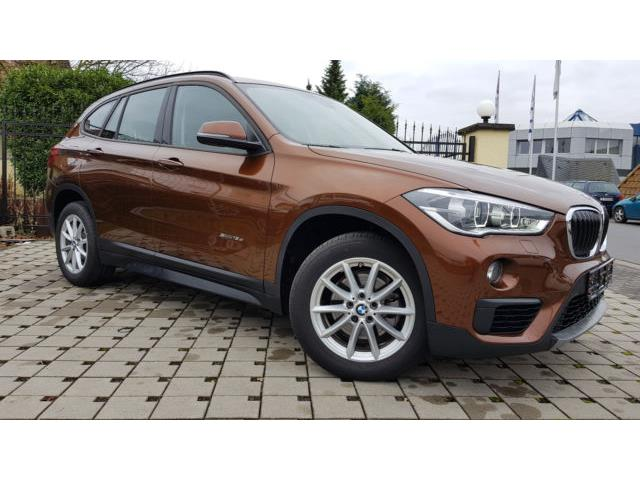 Lhd BMW X1 (08/2017) - brown - lieu:
