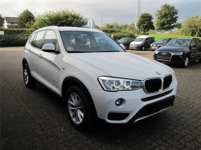 Left hand drive BMW X3 xdrive 20d