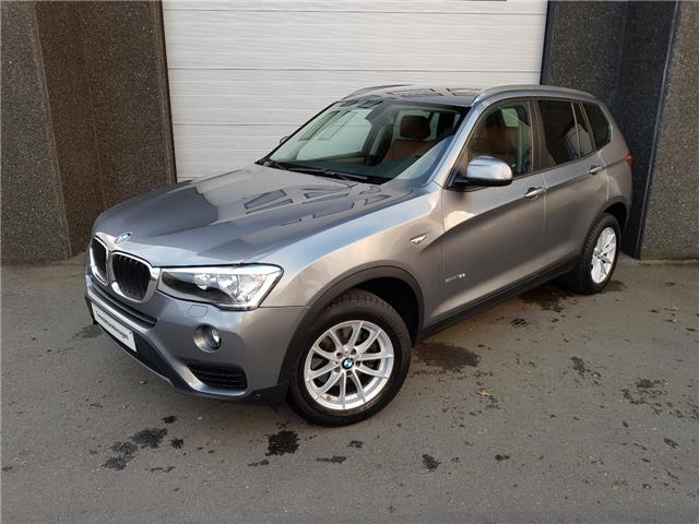 Left hand drive BMW X3 sDrive18d