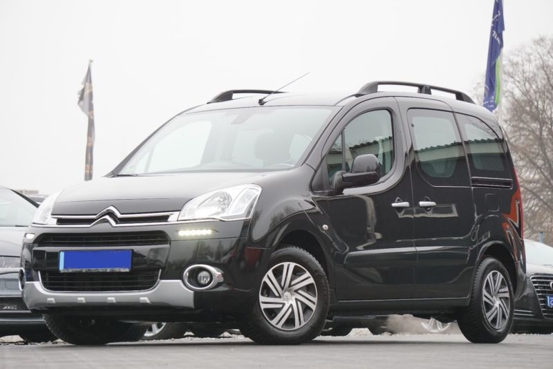 lhd CITROEN BERLINGO (03/2015) - Black - lieu: